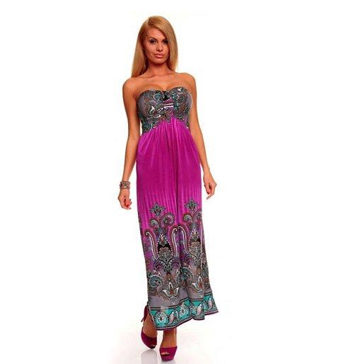 dc685b57238 45% sleva  dámské letní šaty v pestrých barvách – cena od 329 Kč ...