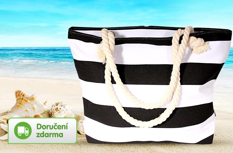 0a20541dc 48 % taška na pláž, na nákupy, prostorná a kvalitní, cena 259 Kč ...