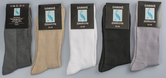 c3df5ffac5c 40 % dámské a pánské 100% bavlněné ponožky – 5 párů za 179 Kč ...