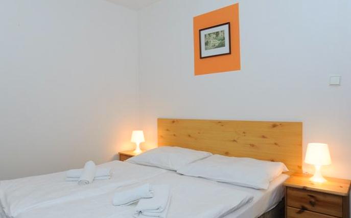 Hotel Karolína, Harrachov – pokoj s vlastní koupelnou
