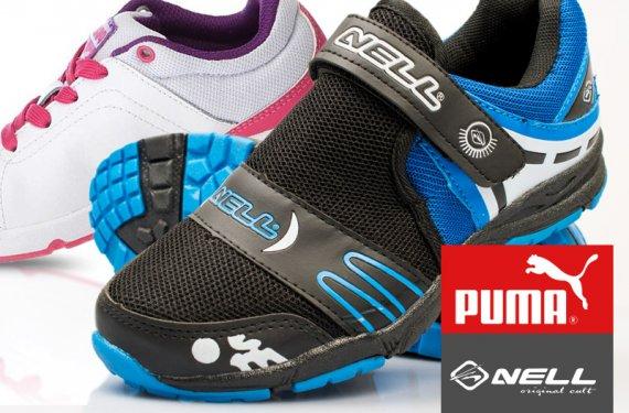 a0000bac7d8 Levná značková obuv pro ženy a děti  Puma a Nell již od 229 Kč ...