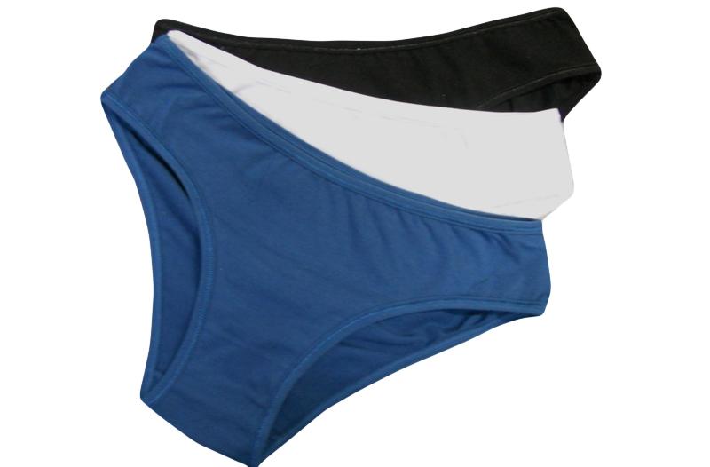 43% sleva na dámské spodní prádlo – troje bavlněné kalhotky za 199 ... 2187274047