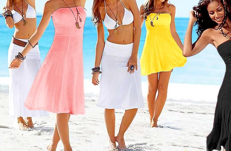 Levné dámské doplňky na pláž – letní šaty od 329 Kč 796e64679b