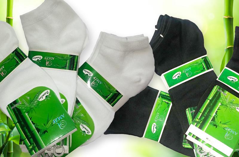 1192dc8e925 9 párů ponožek z bambusového vlákna za akční cenu 189 Kč