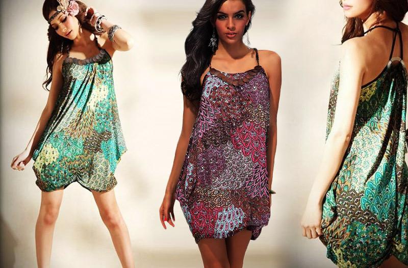7eb1faa9322 22 % dámská móda na léto – šaty tunikového střihu za 389 Kč