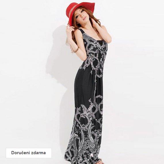 Akce  sleva na oblečení pro ženy – dlouhé letní šaty za 449 Kč ... 645381b3bcc