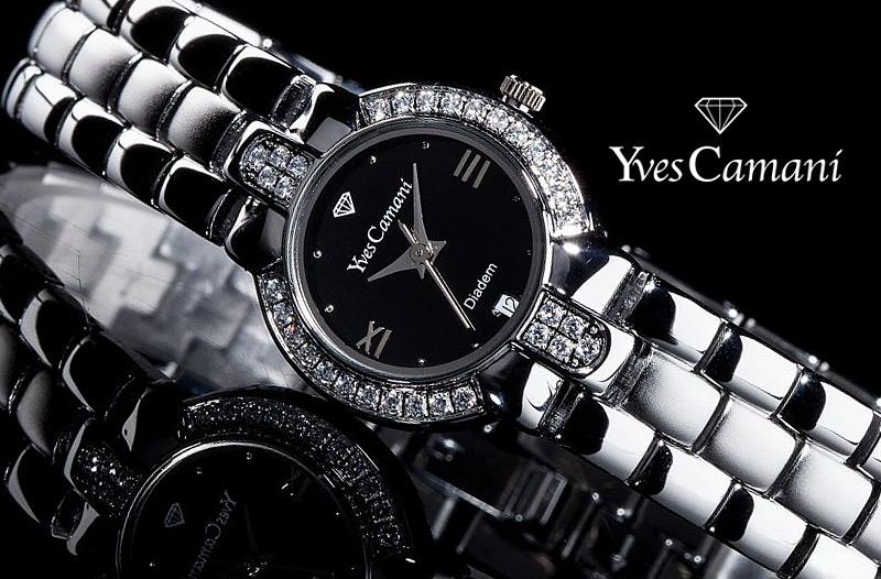 508144ee567 Sleva 72 % na značkové hodinky pro ženy Yves Camani