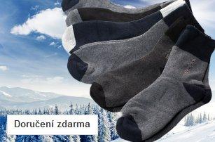 Pánské termo ponožky – 6 párů