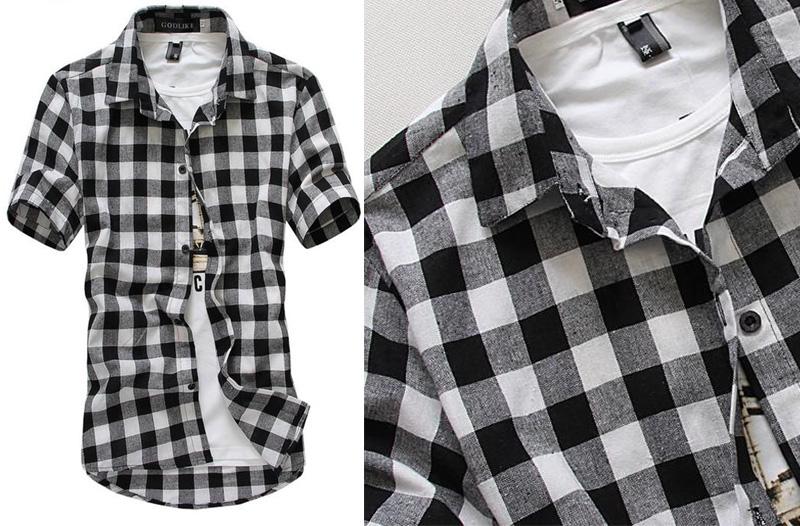 f7a22649510 Levné pánské oblečení  košile za akční cenu · Sleva na oblečení pro muže