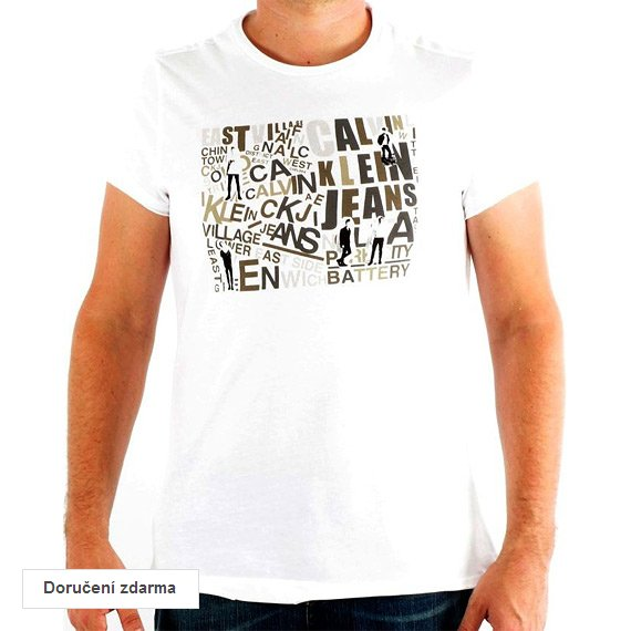 67% sleva na dámské a pánské oblečení Calvin Klein – trička za 399 ... feb15e5d8e