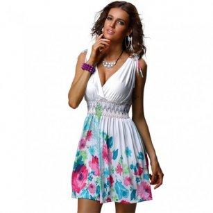 Výprodej krátkých dámských šatů  23c41bfc49