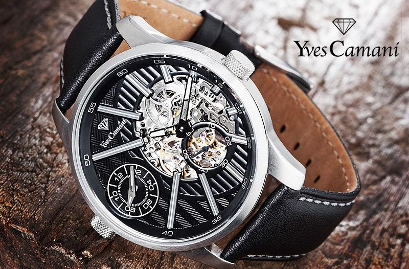944a51b76 Sleva 73 % na značkové hodinky pro muže zn. Yves Camani | Vykupto.cz