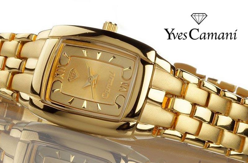 ad8e2c03f9a Sleva  Luxusní dámské hodinky Yves Camani za 1 390 Kč
