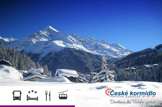 5denní lyžařský zájezd do Alp