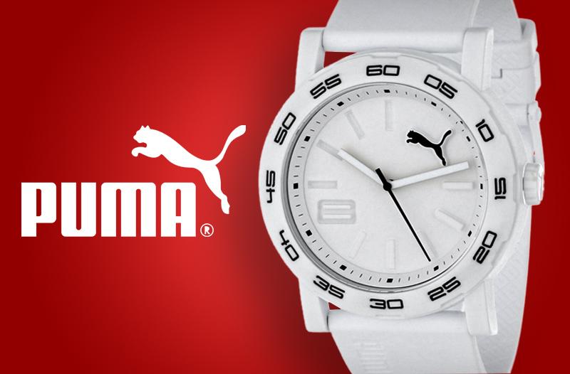 41 % doplňky pro ženy a muže – analogové hodinky Puma za 990 Kč ... 771f18a288a