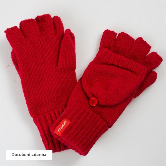 Dámské zimní pletené rukavice  dc7410fdbe