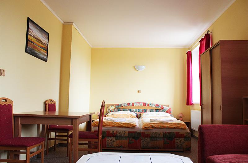 Františkovy Lázně – ubytování penzion Hortenzie