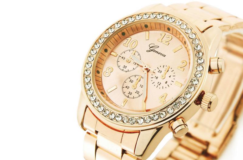 Slevy na módní doplňky  hodinky Geneva pro ženy fbdd0b1539