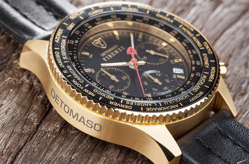 Pánské hodinky Detomaso Firenze Gold za 1 990 Kč 21d0713d66e