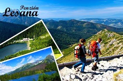 Vysoké Tatry pro dva s polopenzí a balíčkem plným slev