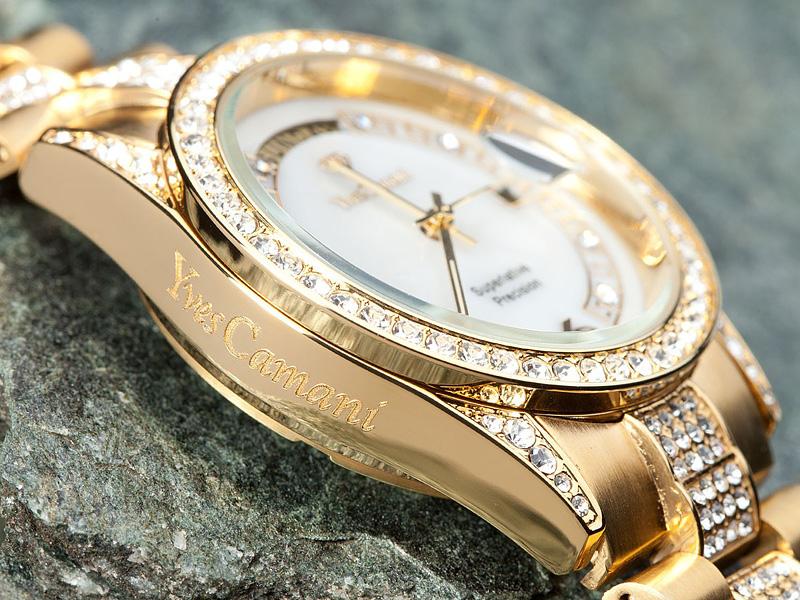 88afcb8d400 ... Luxusní dámské hodinky sleva  Značkové hodinky pro ženy Yves Camani  sleva 60 %