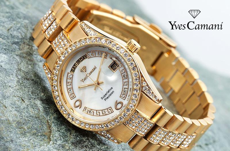 c119a7b20a3 Slevy na módní doplňky  -60 % hodinky Yves Camani + poštovné zdarma ...