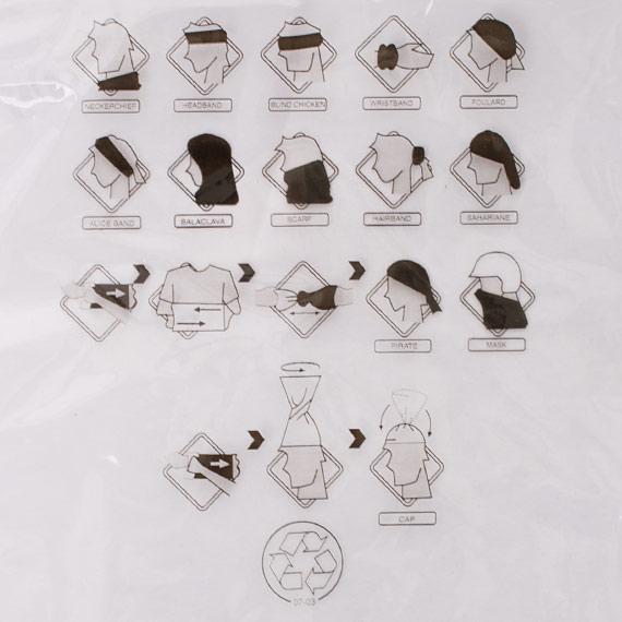 Sportovní multifunkční šátek pro ženy i muže cfdb41b7e1