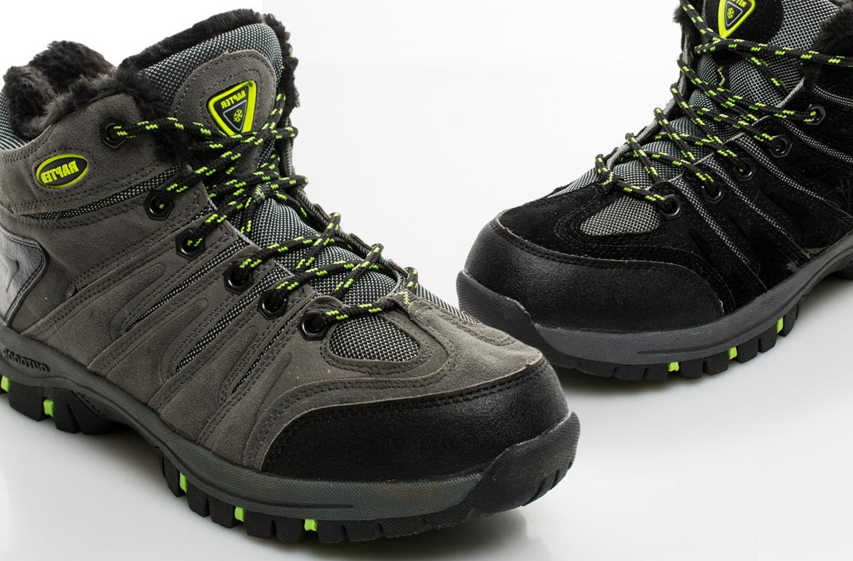 Pánské zimní trekové boty – 2 modely. Kvalitní outdoorová obuv ... 54b9cca2d2