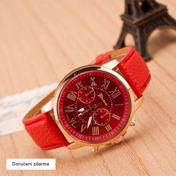 0dbee570d AKCE dámské hodinky Geneva za 249 Kč, doručení zdarma | Vykupto.cz