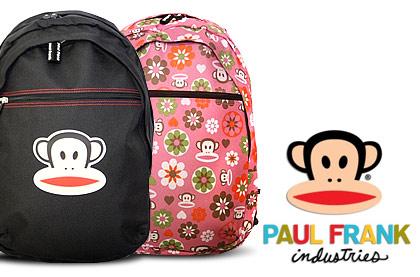 Značkové batohy s opičkou Paul Frank