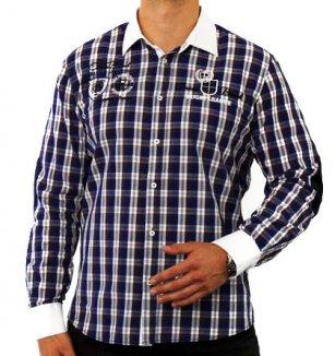 Modro-bílá košile Carisma 6c761179fc