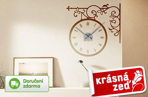 Designové samolepící hodiny, poštovné zdarma | Vykupto.cz