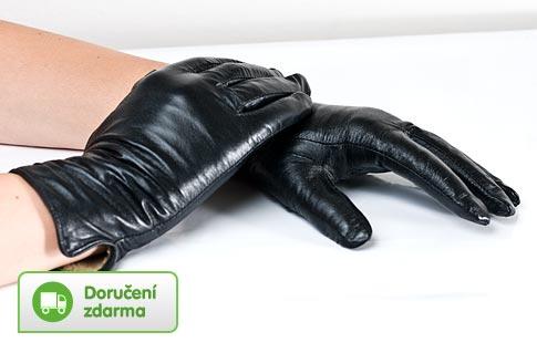 67fe3e641c9 Dámské kožené rukavice – doručení zdarma