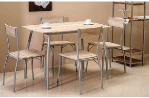 Moderní jídelní set Modus stůl + 4 židle za SUPER cenu