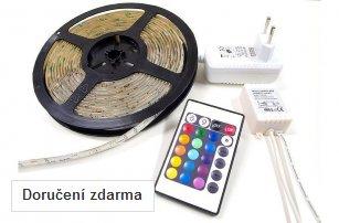 Dencop Lighting LED pásek Premium, RGB, set dl. 5m