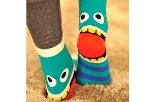 Ponožky s příšerkami pro odvážné!