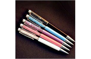 Dotykové pero na mobil a propiska 2v1 s elegantními kamínky!