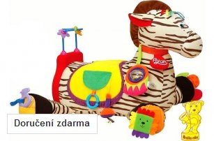 Hračka roku: K´s Kids Velká zebra RYAN s 28 funkcemi zábavy