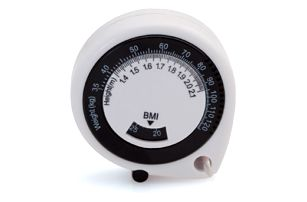 Metr pro měření tělesných rozměrů s BMI kalkulátorem - dodání do 2 dnů