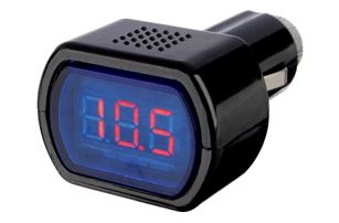 Digitální voltmetr - autodoplněk - dodání do 2 dnů