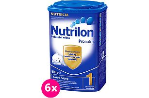6x Nutrilon 1 Good Sleep 800g