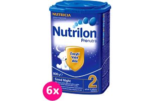 6x Nutrilon 2 Good Night 800g