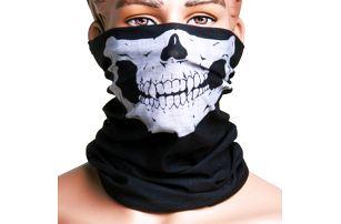 Multifunkční šátek - motiv lebka, nejen pro motorkáře