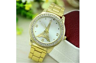 Luxusní hodinky s Eiffelovou věží