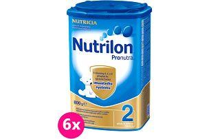 6x Nutrilon 2 800g