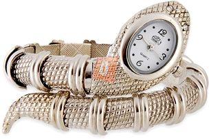 Hadí hodinky - stříbrné