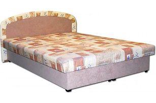 Čalouněná postel Zofie (béžová)