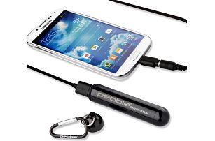 Cestovní nabíječka Pebble Smartstick VPP-004, černá