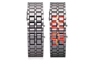 Stylové LED digitální náramkové hodinky ve 3 provedeních