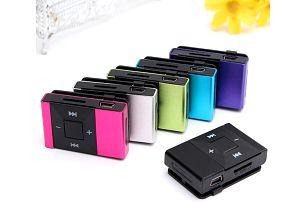 Mini MP3 přehrávač na micro SD karty - 5 barev